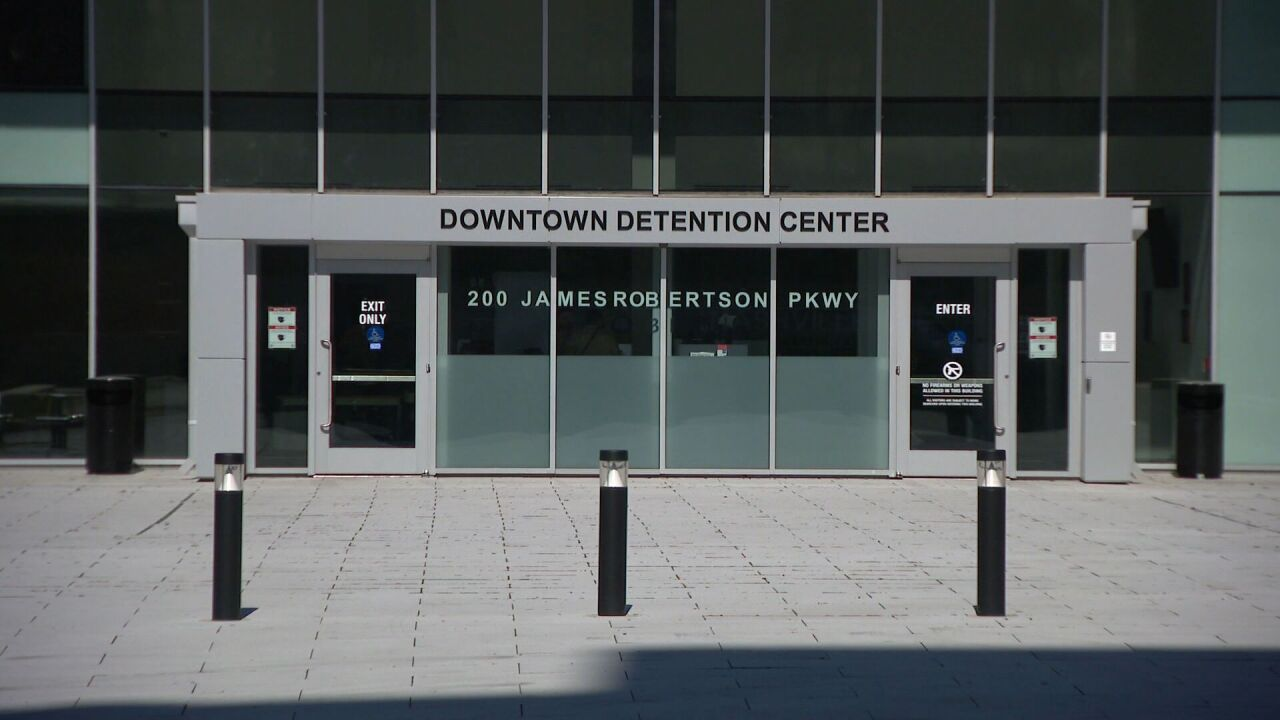 downtown detention center