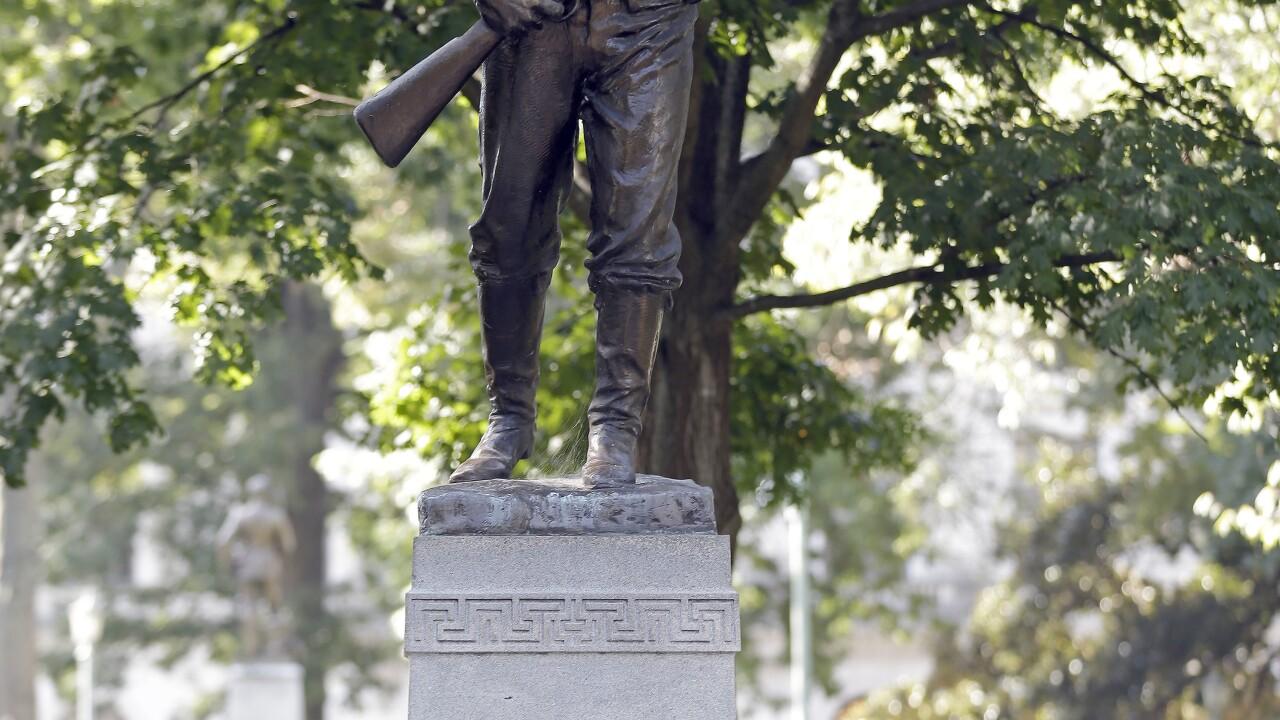 Confederate Monuments North Carolina