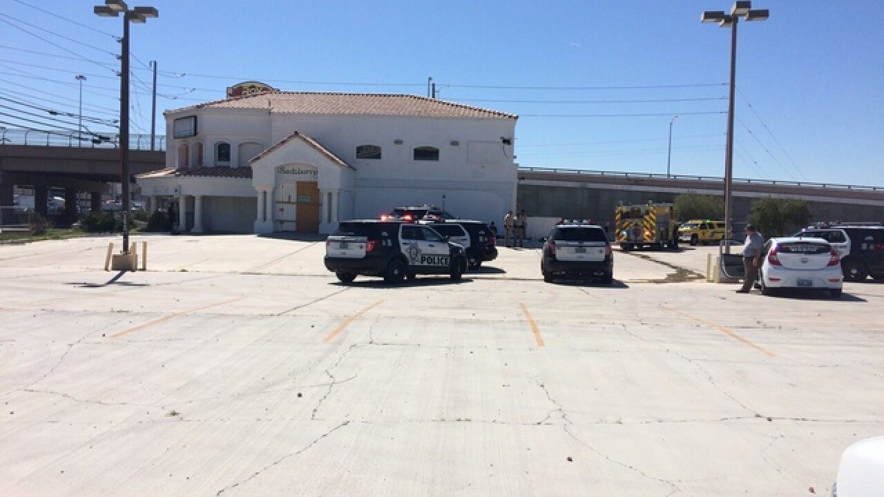 Reports of fire in vacant business investigated