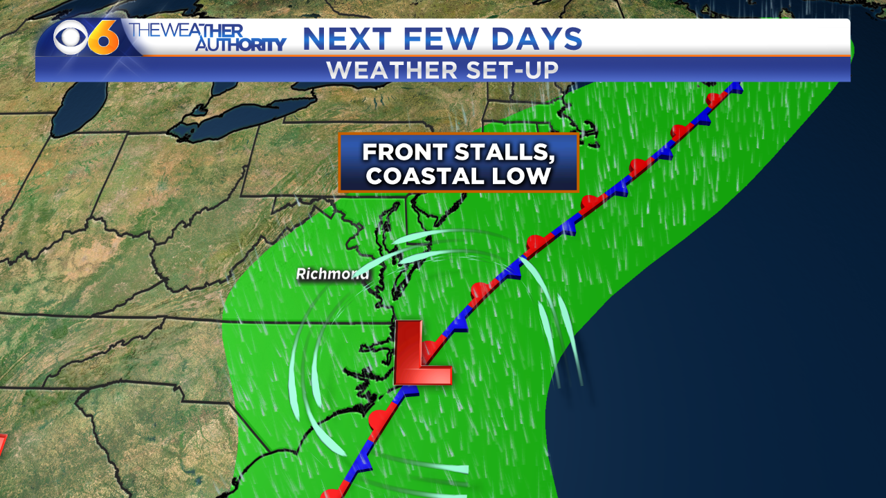 Days of heavy rain for Virginia even if Hurricane Joaquin doesn'thit