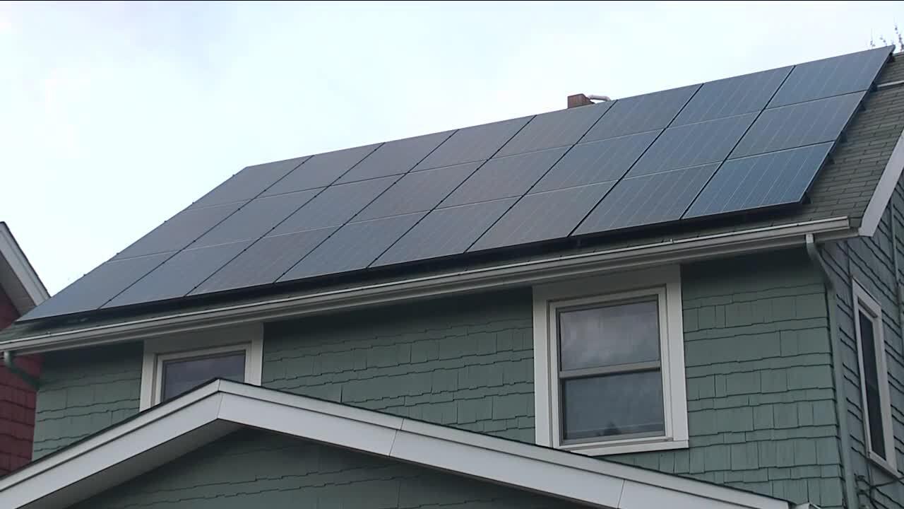 Solar panel Cuyahoga County