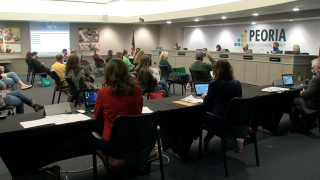 Peoria Unified School District Meeting, January 13