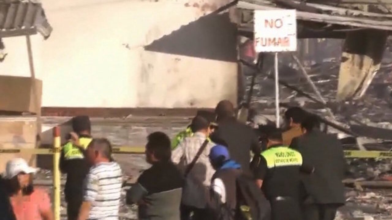 Multiple injured in Mexico explosion