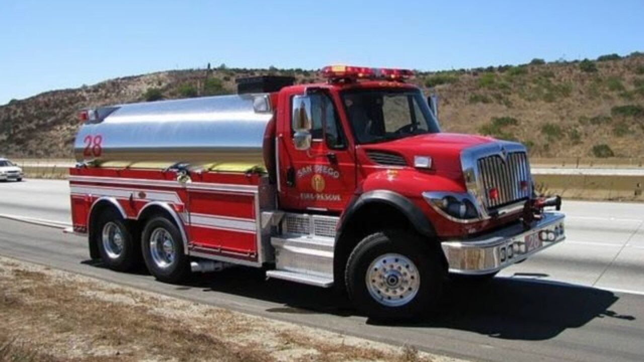 San Diego Fire-Rescue on standby during heat wave