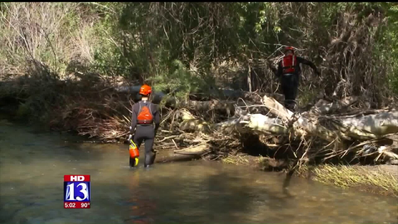 Body of 4-year-old London De Dios recovered from Provo River