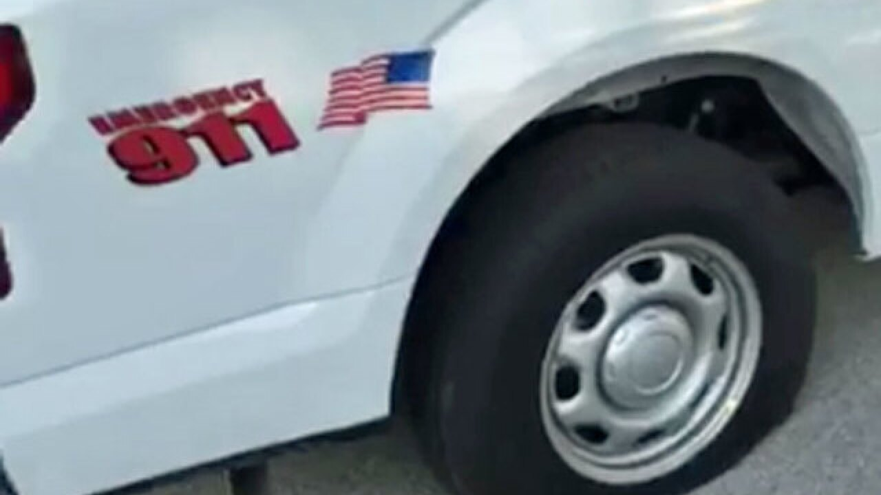 Vandals slash tires on animal control vehicles
