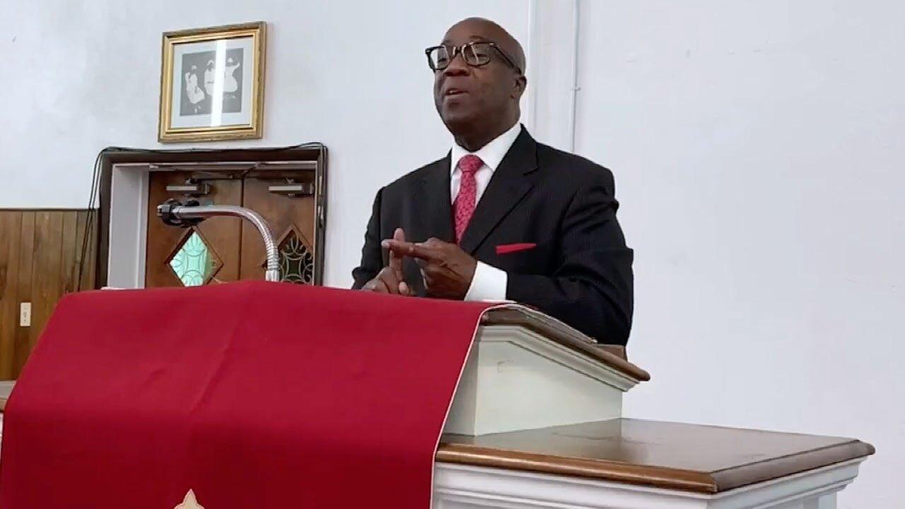 Dr. Tony F. Drayton, pastor of St. James Church in Riviera Beach