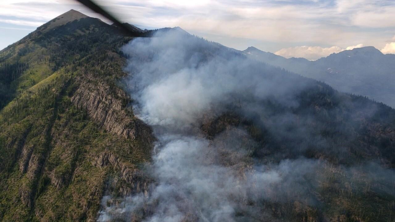 Lion Creek Fire 2