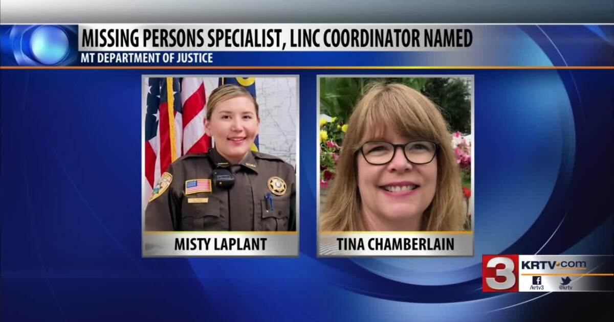MT DOJ hires 2 people to assist with missing persons cases