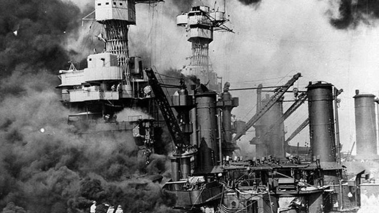 76th anniversary of Pearl Harbor attack in Hawaii