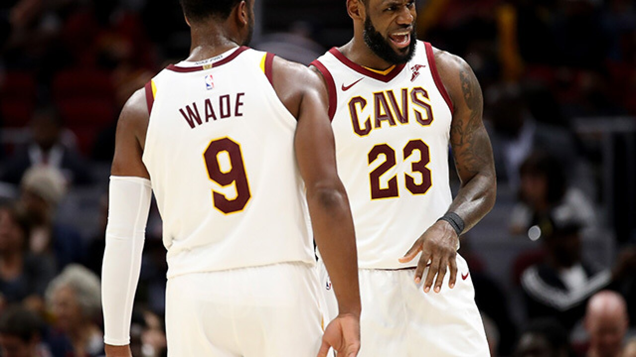 Tyronn Lue, Dwyane Wade respond to Kyrie Irving's jab at Cleveland's status as a sports city