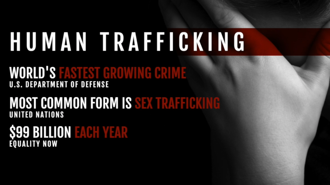human sex trafficking articles in Hervey Bay