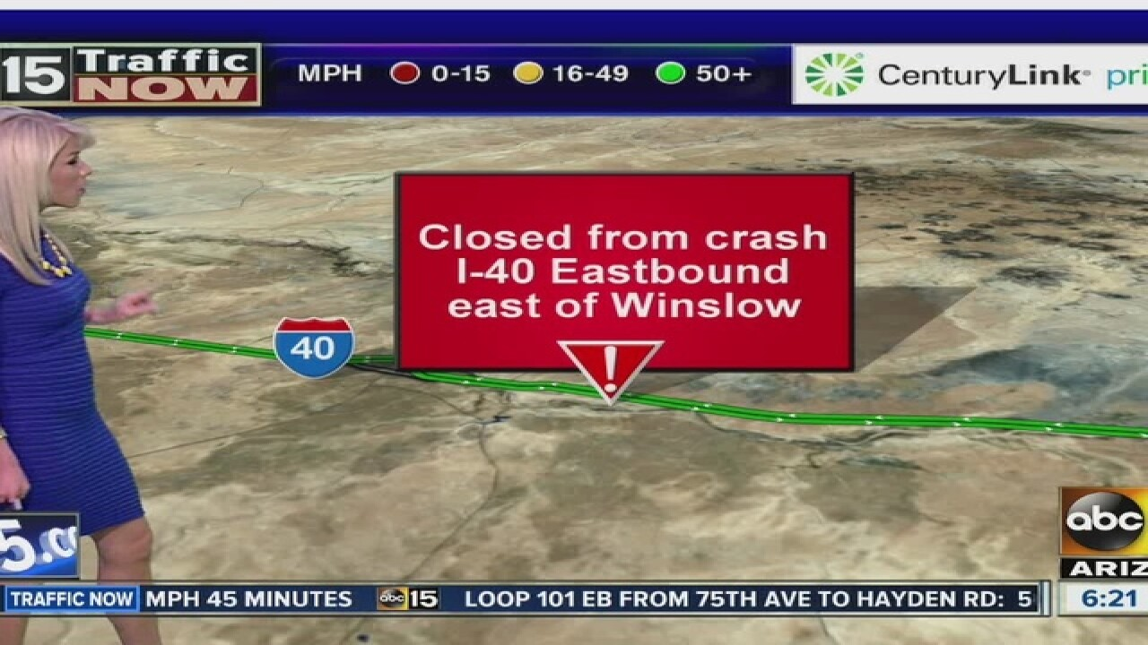 Eastbound I-40 reopens in northern Arizona