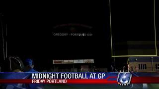 Gregory-Portland power transformer blew