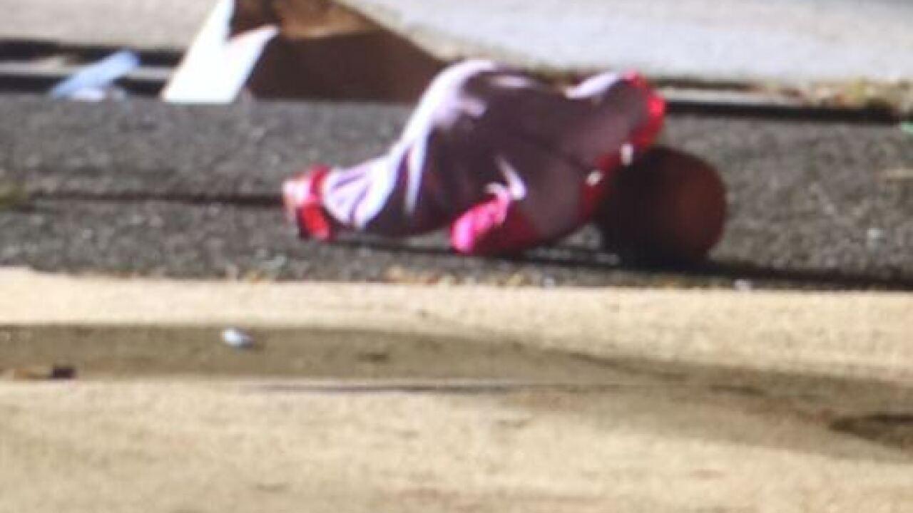 Sister of shooting victim shot in Baltimore