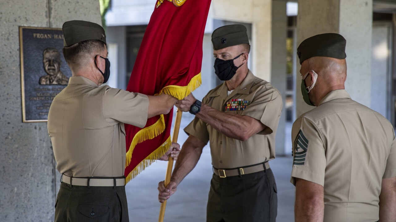 H&S Bn. hosts change of command ceremony