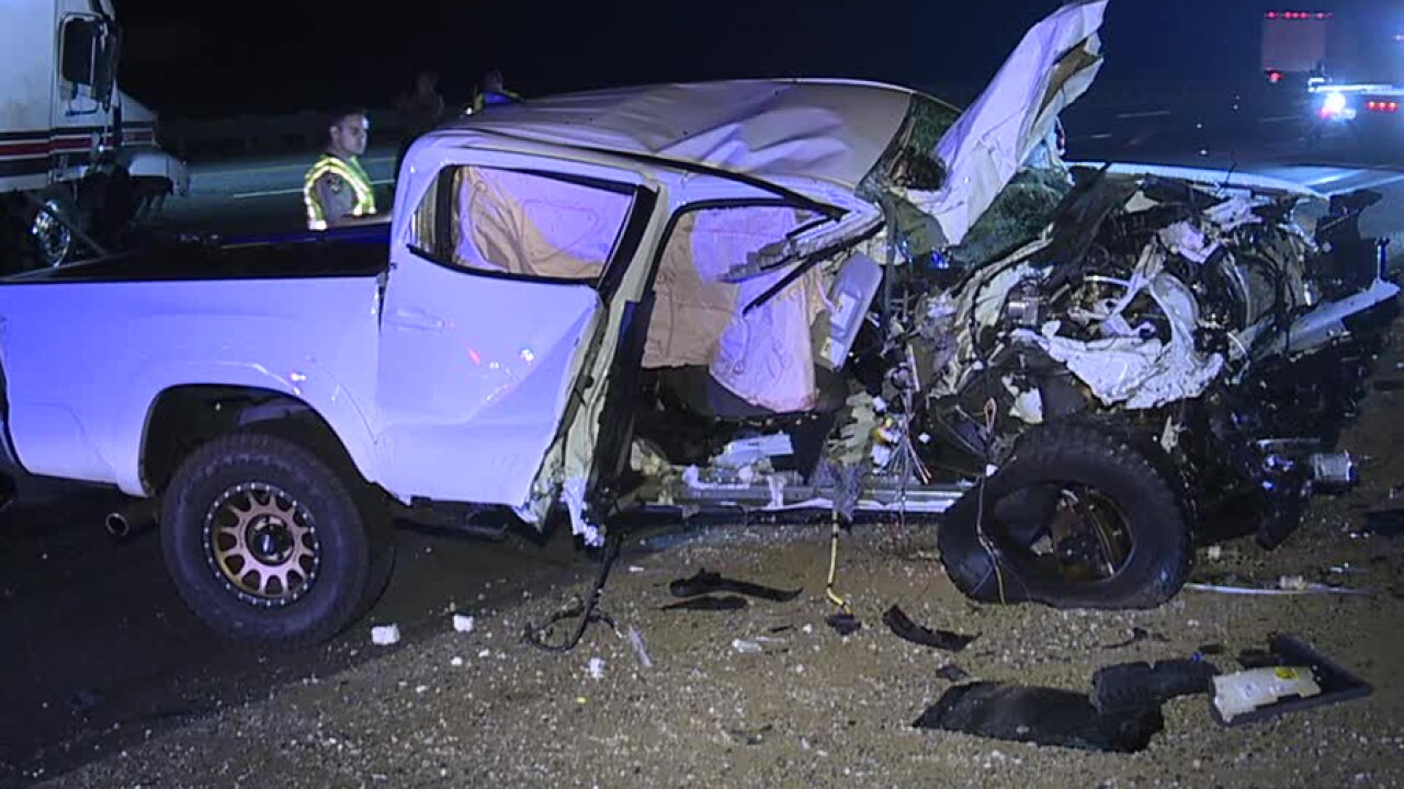 Wrong-way driver slams into semi-truck on I-15 in Escondido