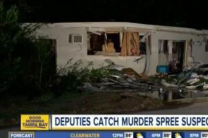 Double homicide suspect caught by deputies