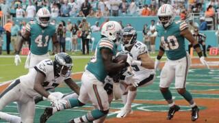 Chris Lammons, Miami Dolphins vs. Philadelphia Eagles in 2019