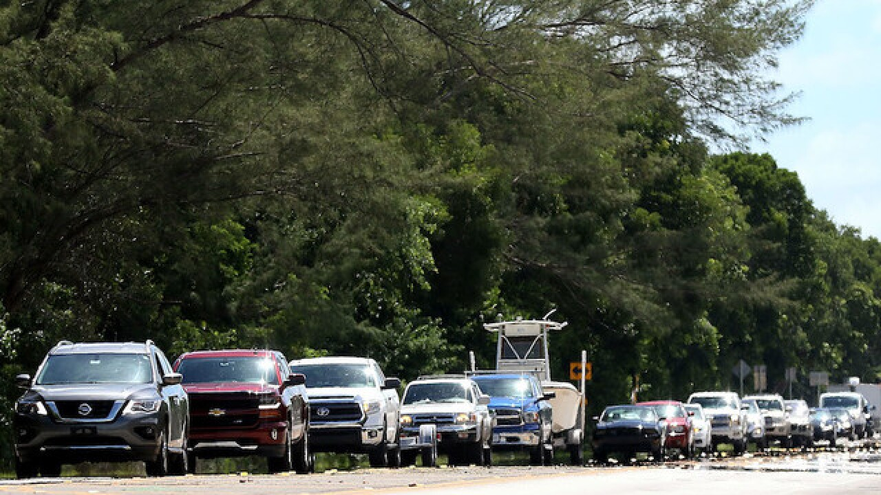 Floridians jam highways to flee wrath of Irma