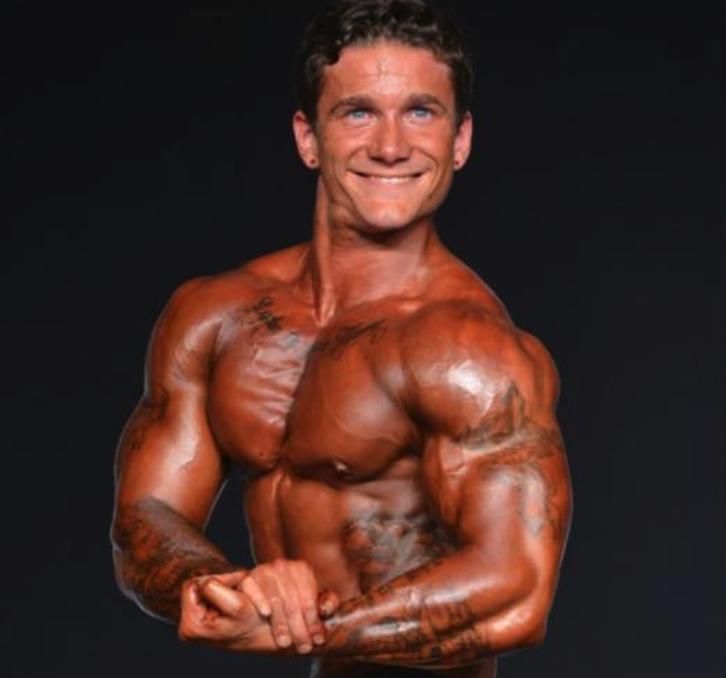 James Anderson bodybuilding