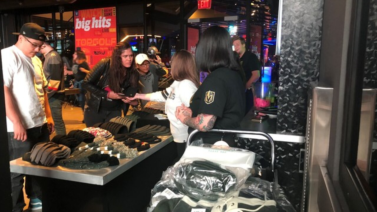 Vegas Golden Knights brings friends together