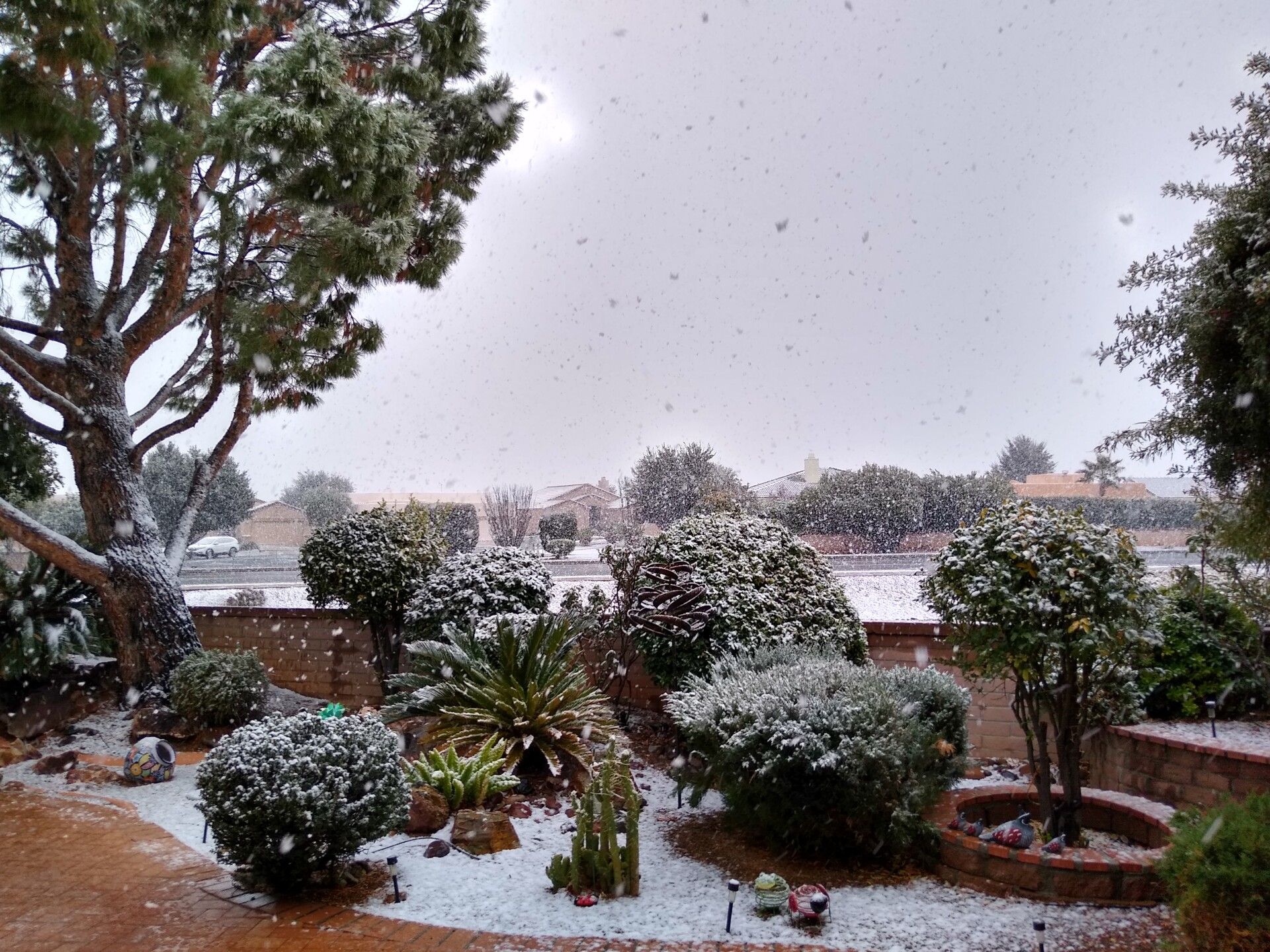 Snow in Green Valley