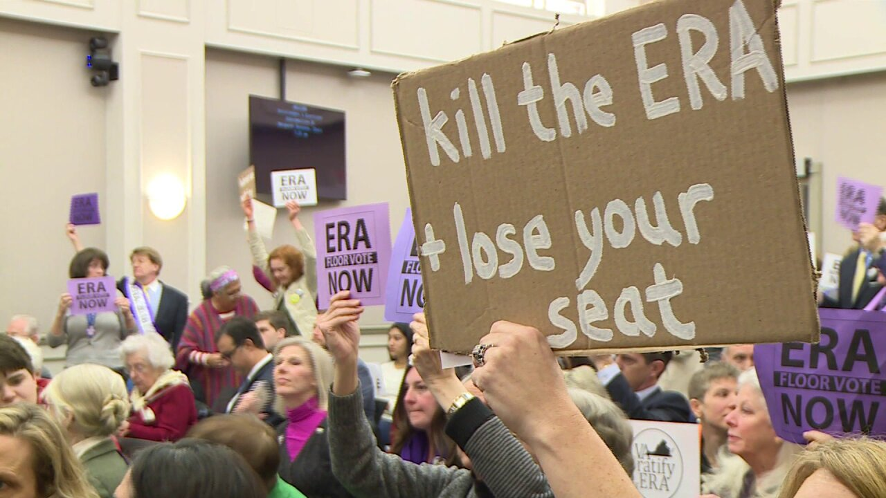Equal Rights Amendment fails by one Virginiavote
