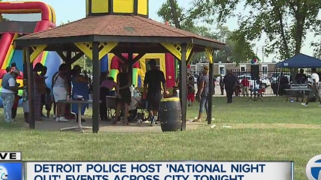 Police precincts hold National Night Out events