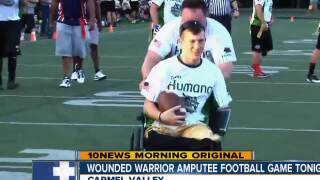 Amputee Veterans will face ex-NFL players in San Diego Friday Night
