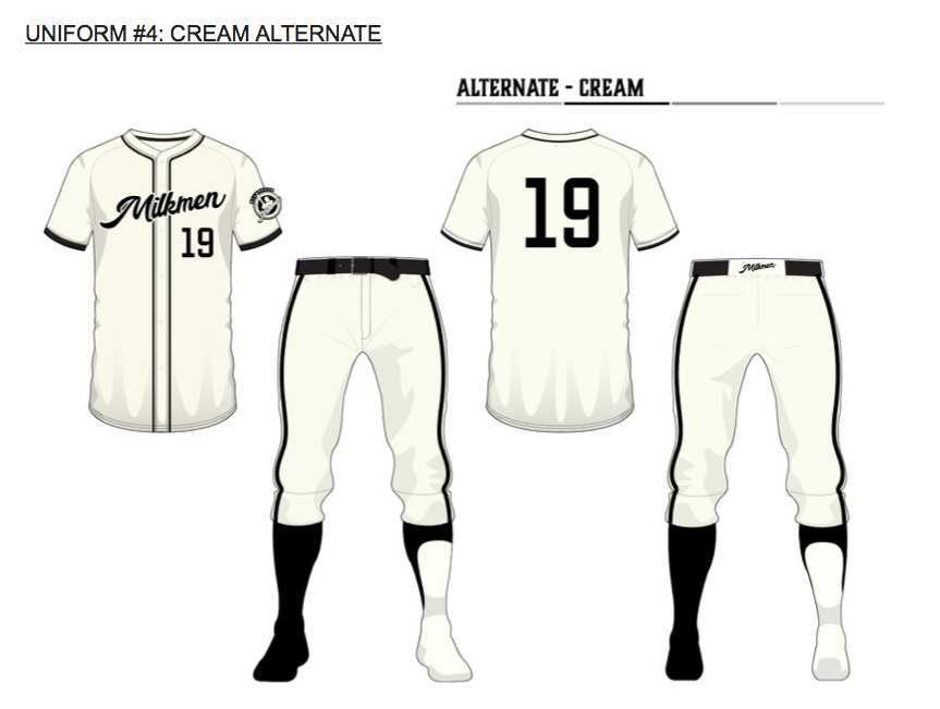 befc8cb49beca Milwaukee Milkmen partner with Routine Baseball and Adidas for uniforms
