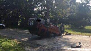 Eaton Rapids Township care crash