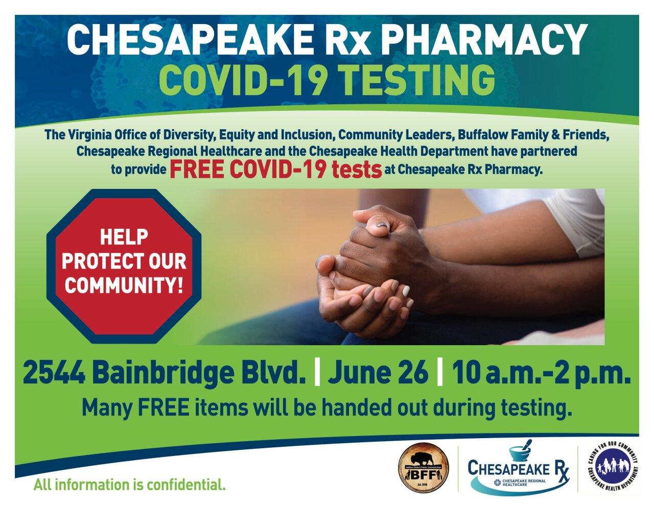 Coronavirus Testing Flyer_ChesRx 6-20.jpg
