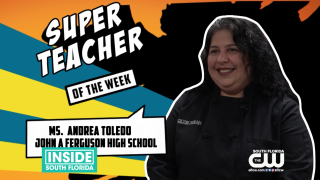 Super Teachers: Ms. Andrea Toledo