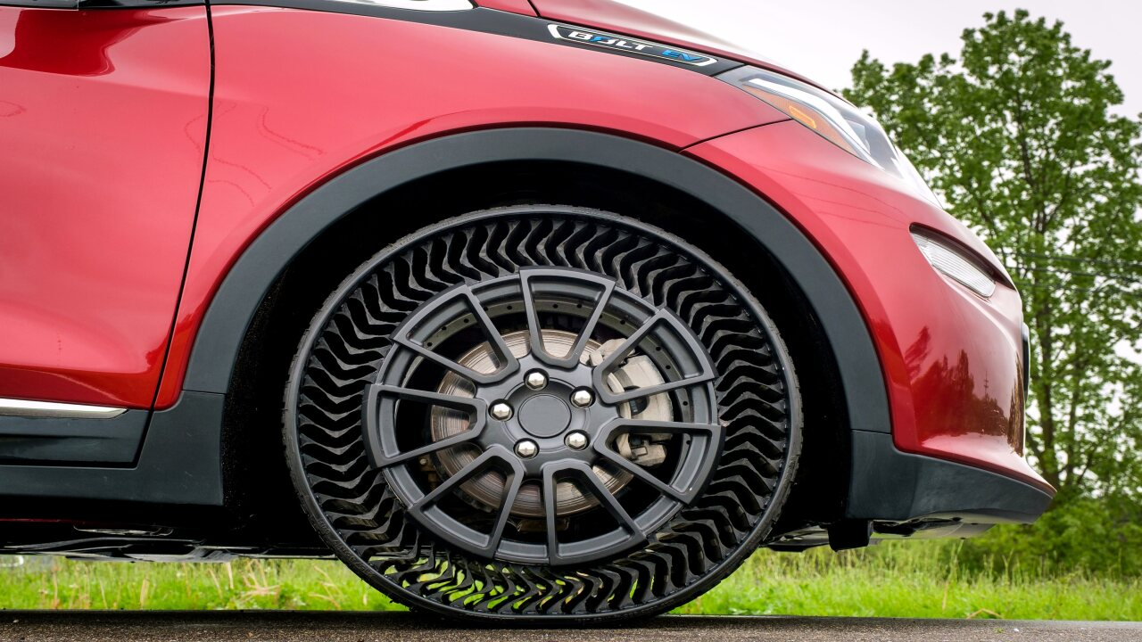 Michelin Is Making New 'Puncture-Proof' Tires