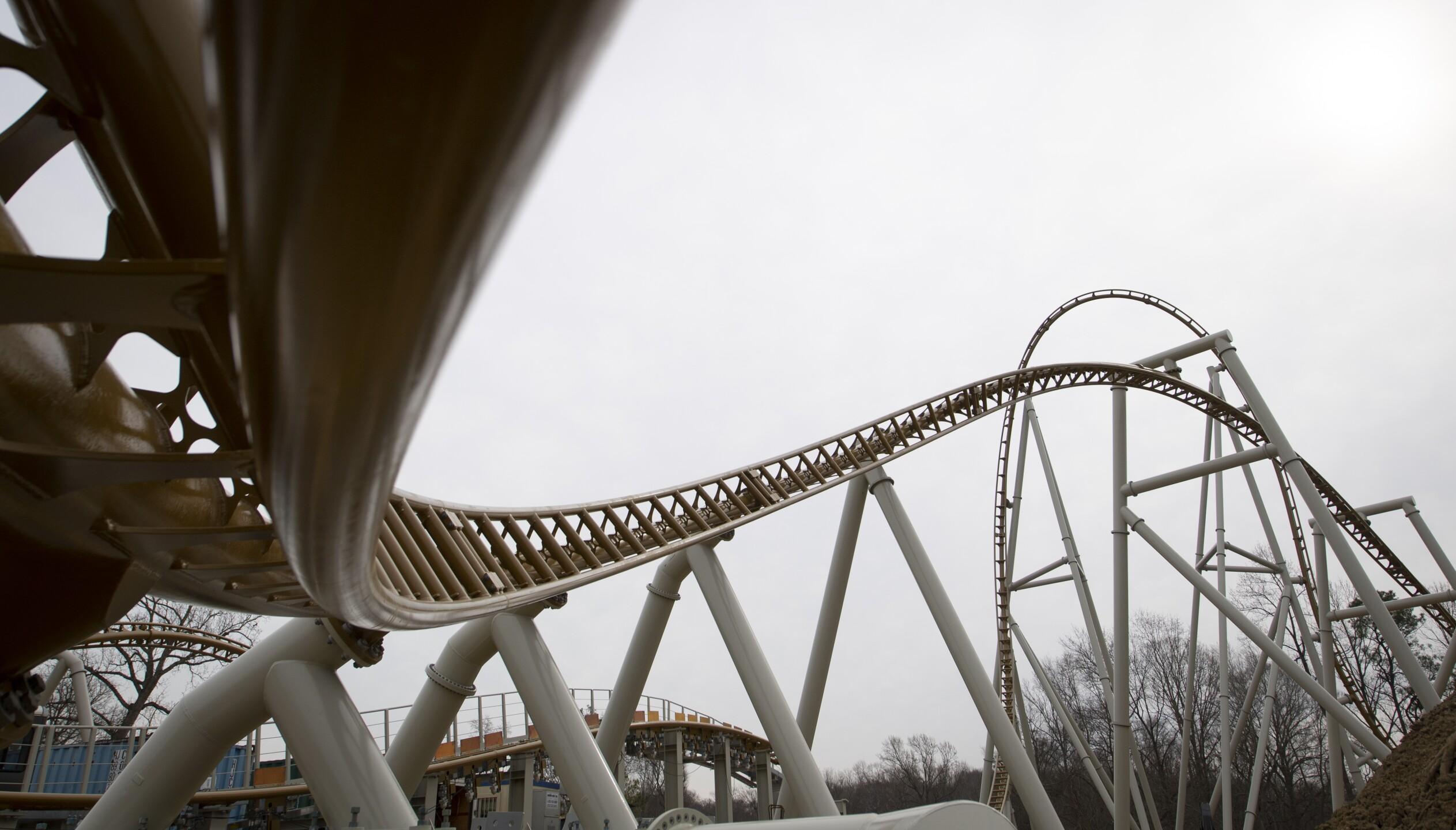 Photos: First look at Busch Gardens Williamsburg's newest roller coaster,Pantheon