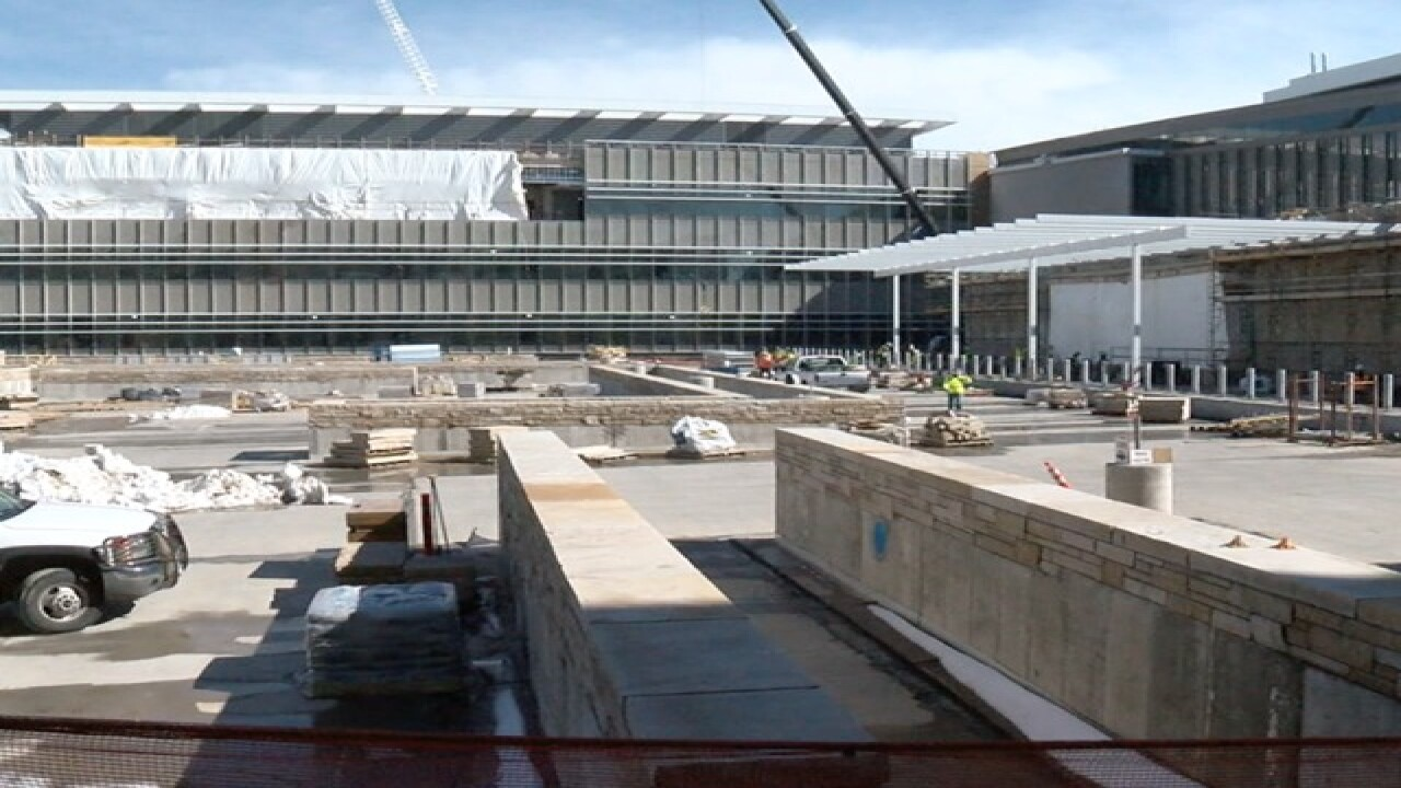 New VA Medical Center now 66 percent complete