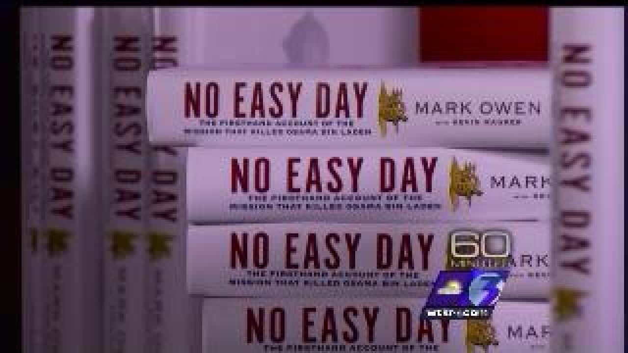 """No Easy Day"" hits bookstores"