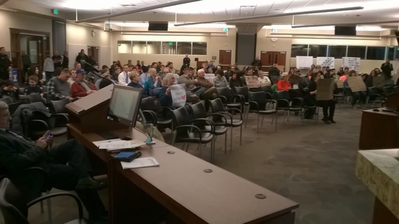 WATCH: Heated protest at Boise City Council