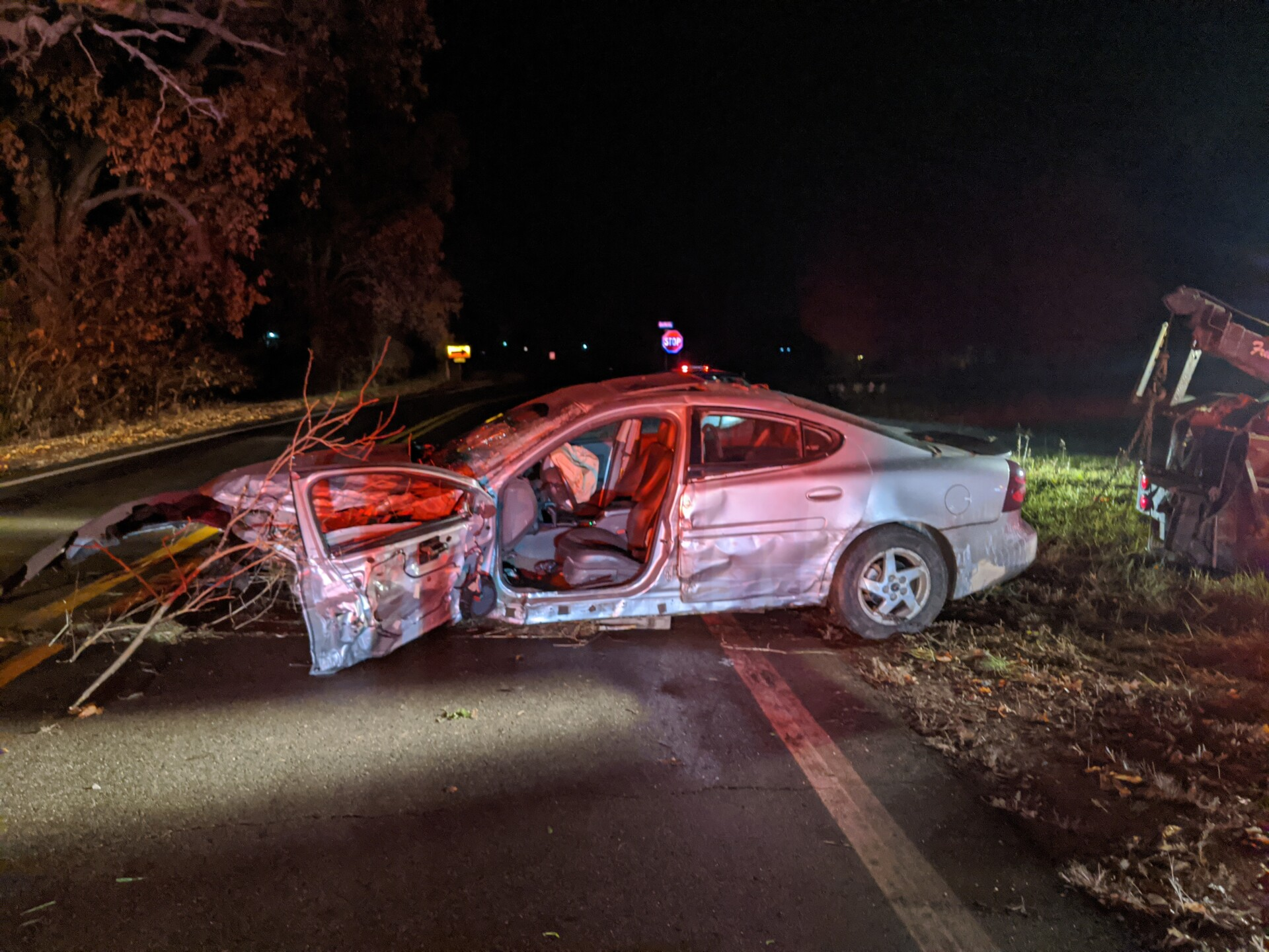 Photos: 2 injured in 3-vehicle drunk driving crash out of Cass Co.
