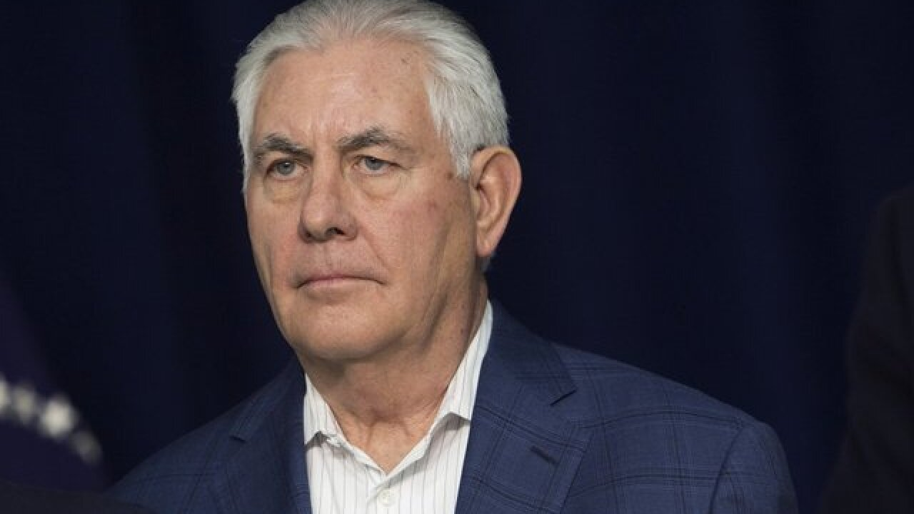 President Trump removes Secretary of State Rex Tillerson, replaces him with CIA head Pompeo