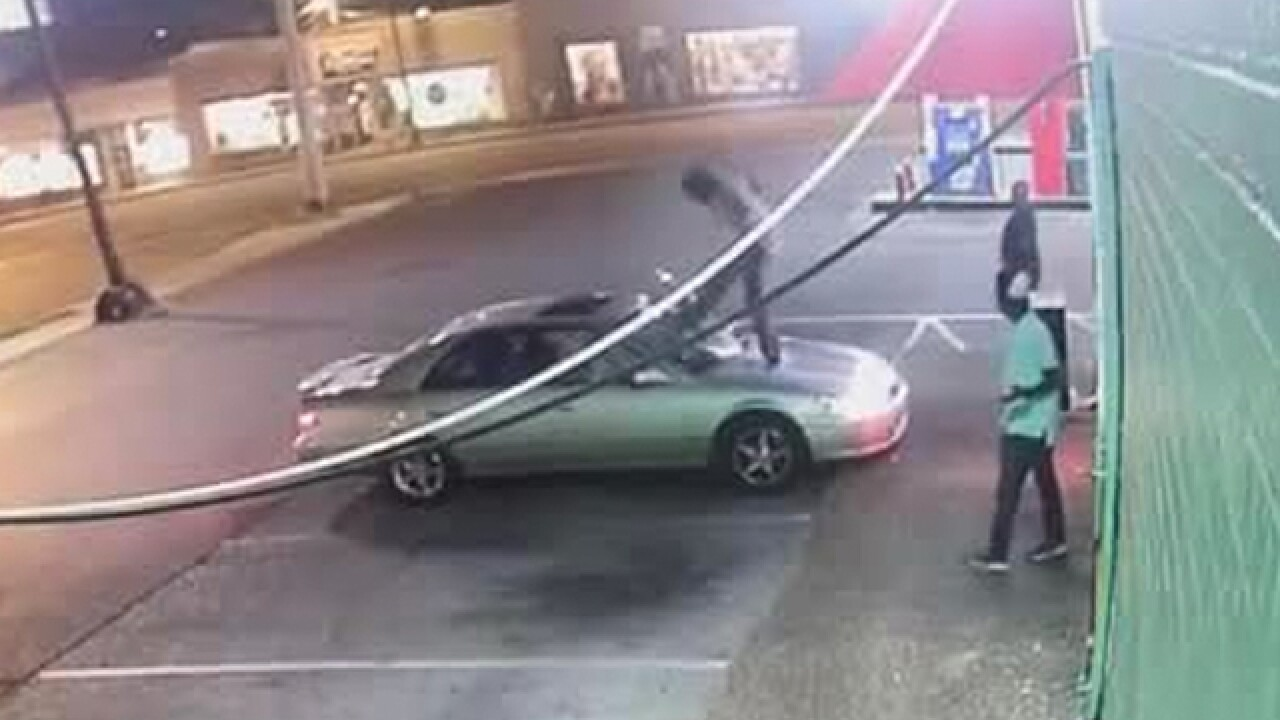Woman Attacked At Nashville Gas Station
