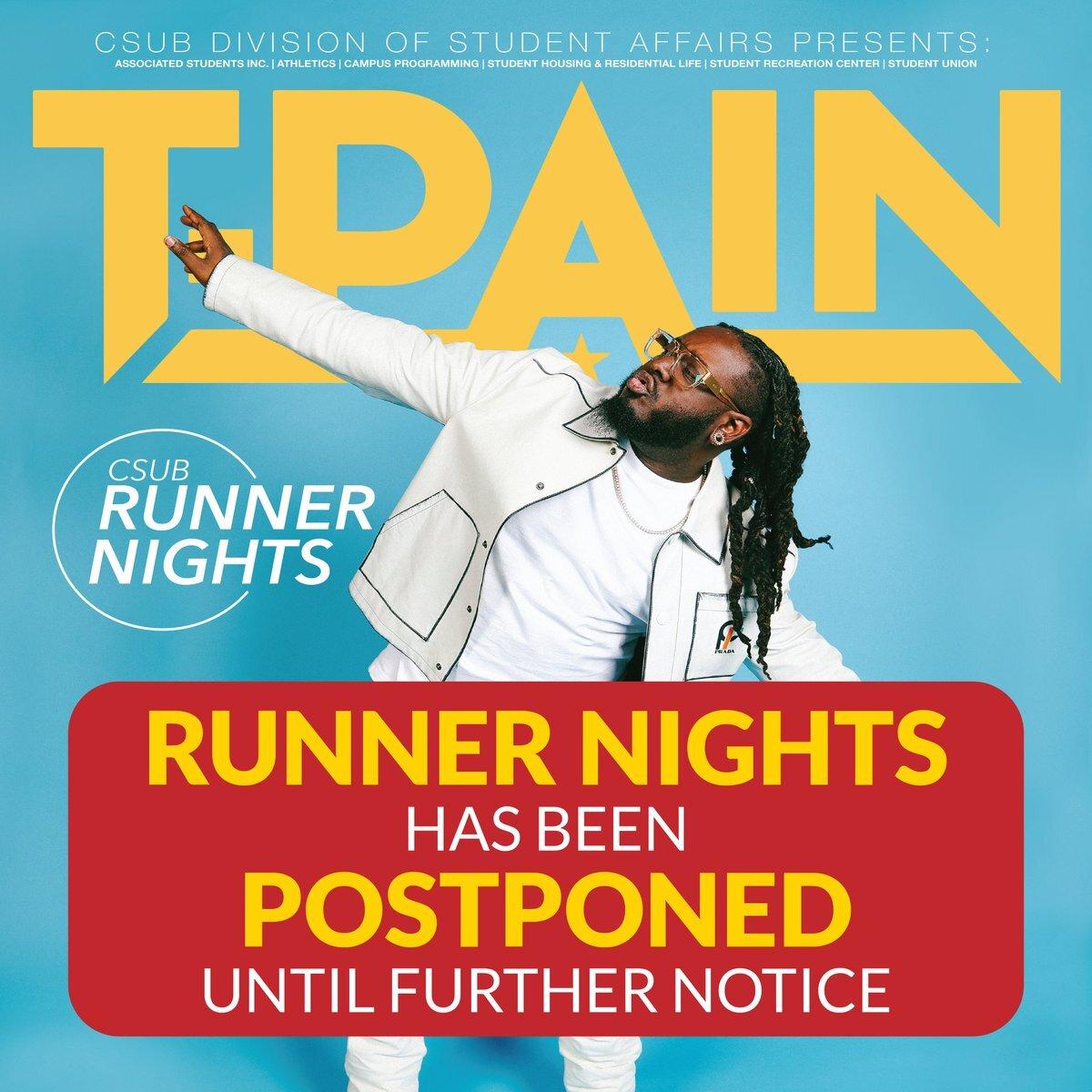 T-Pain, T-Postponed