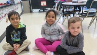 Prerak_posing_with_classmates.JPG