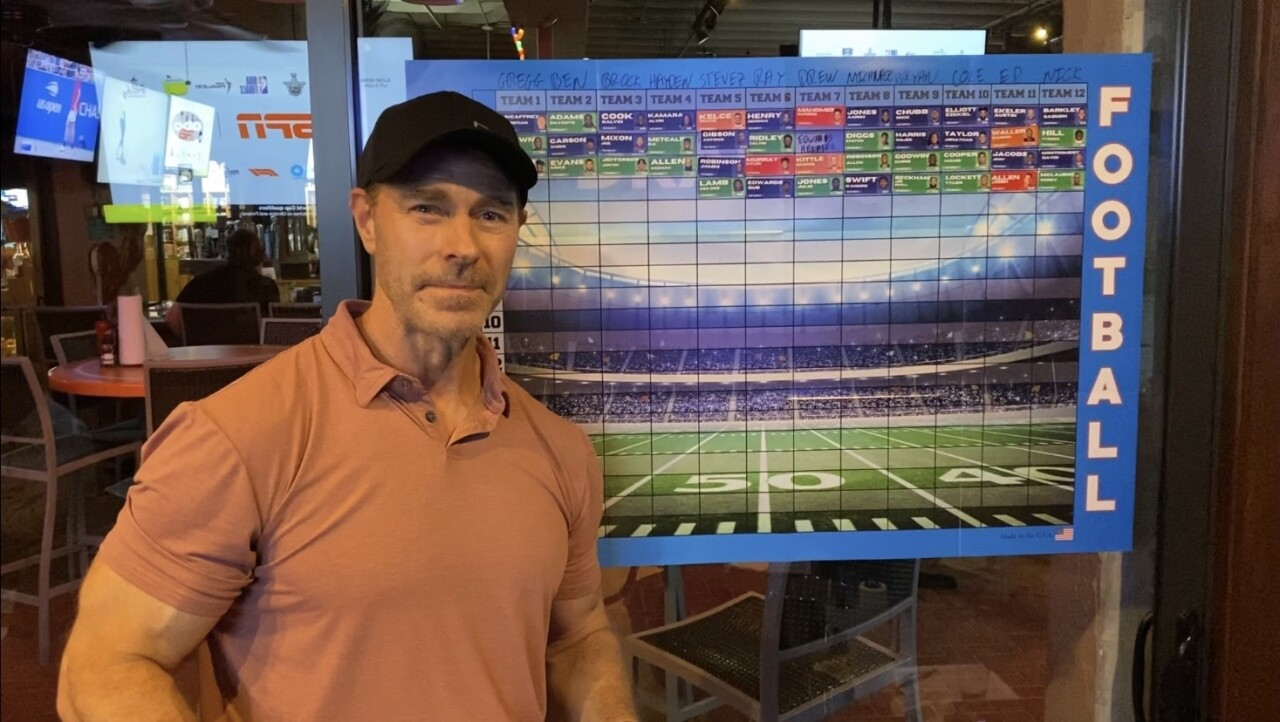 Mark Brockelman, founder of 'Brock and Bros' fantasy football league
