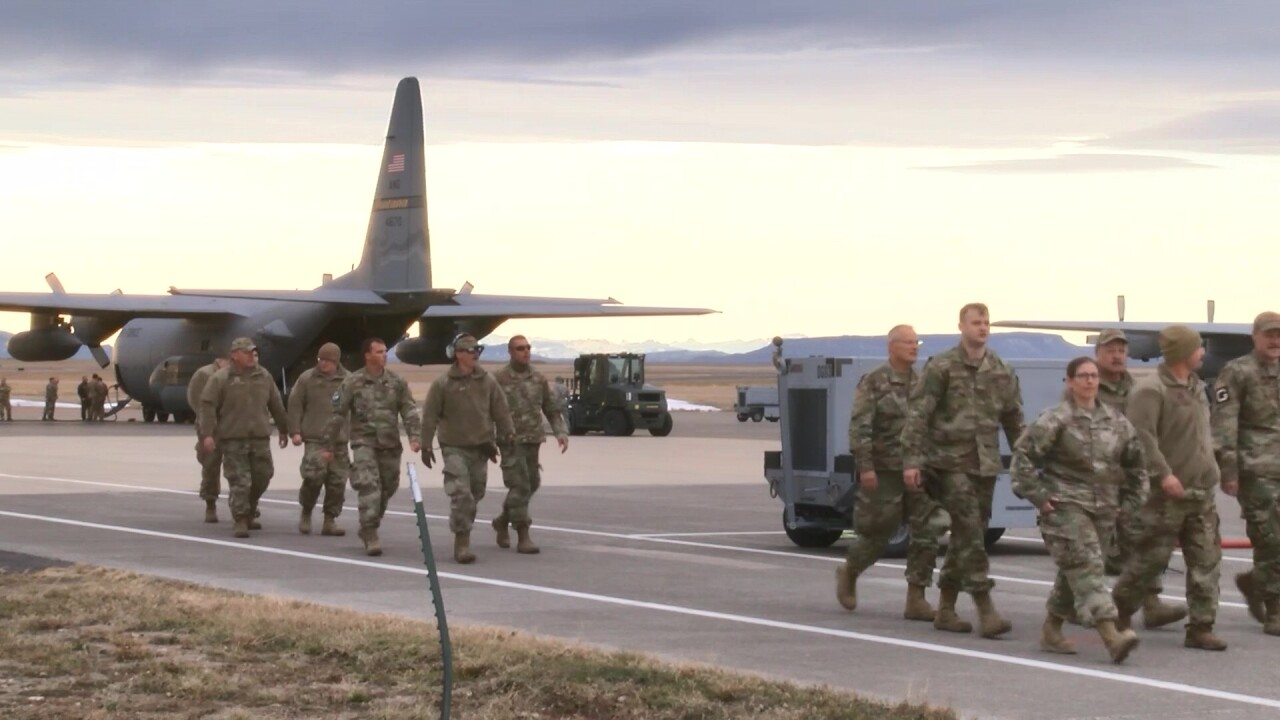 Montana airmen return from deployment