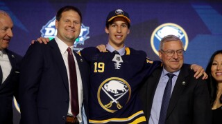Cozens hopes to make immediate impact with Sabres