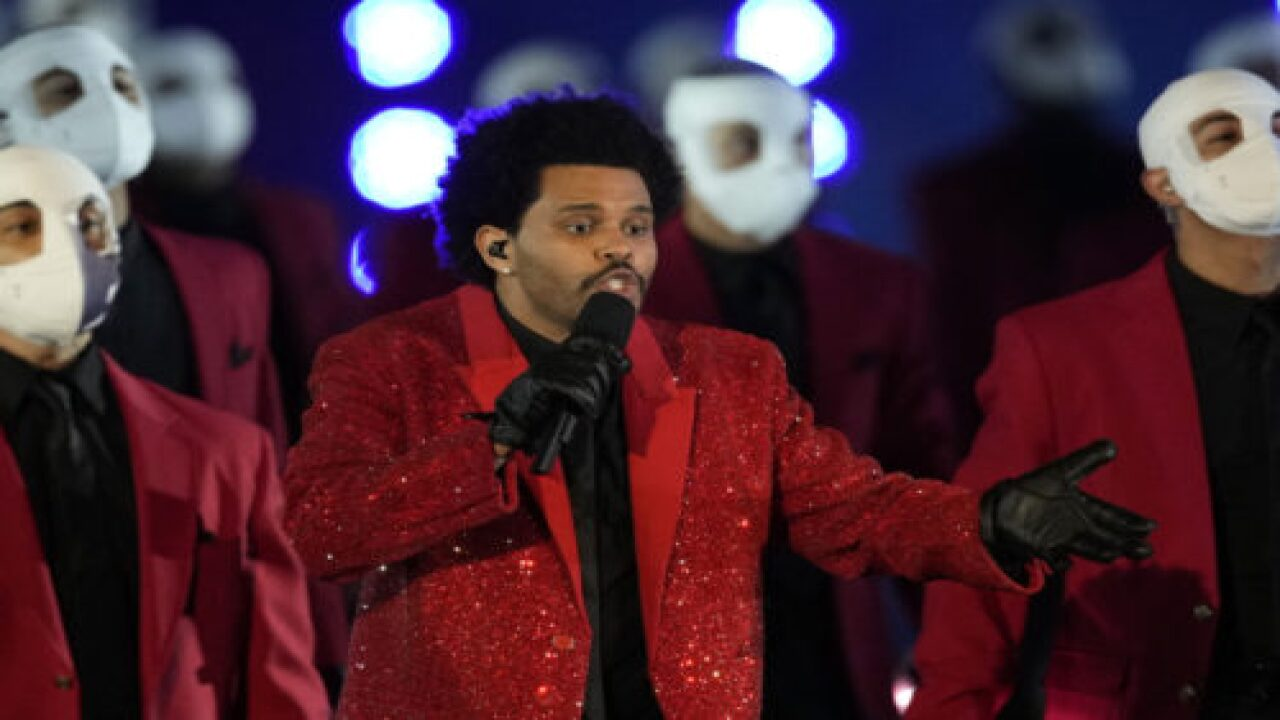 Why The Weeknd's Super Bowl Dancers Wore Bandages On Their Faces
