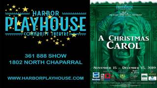 Check out 'A Christmas Carol' at Harbor Playhouse this weekend