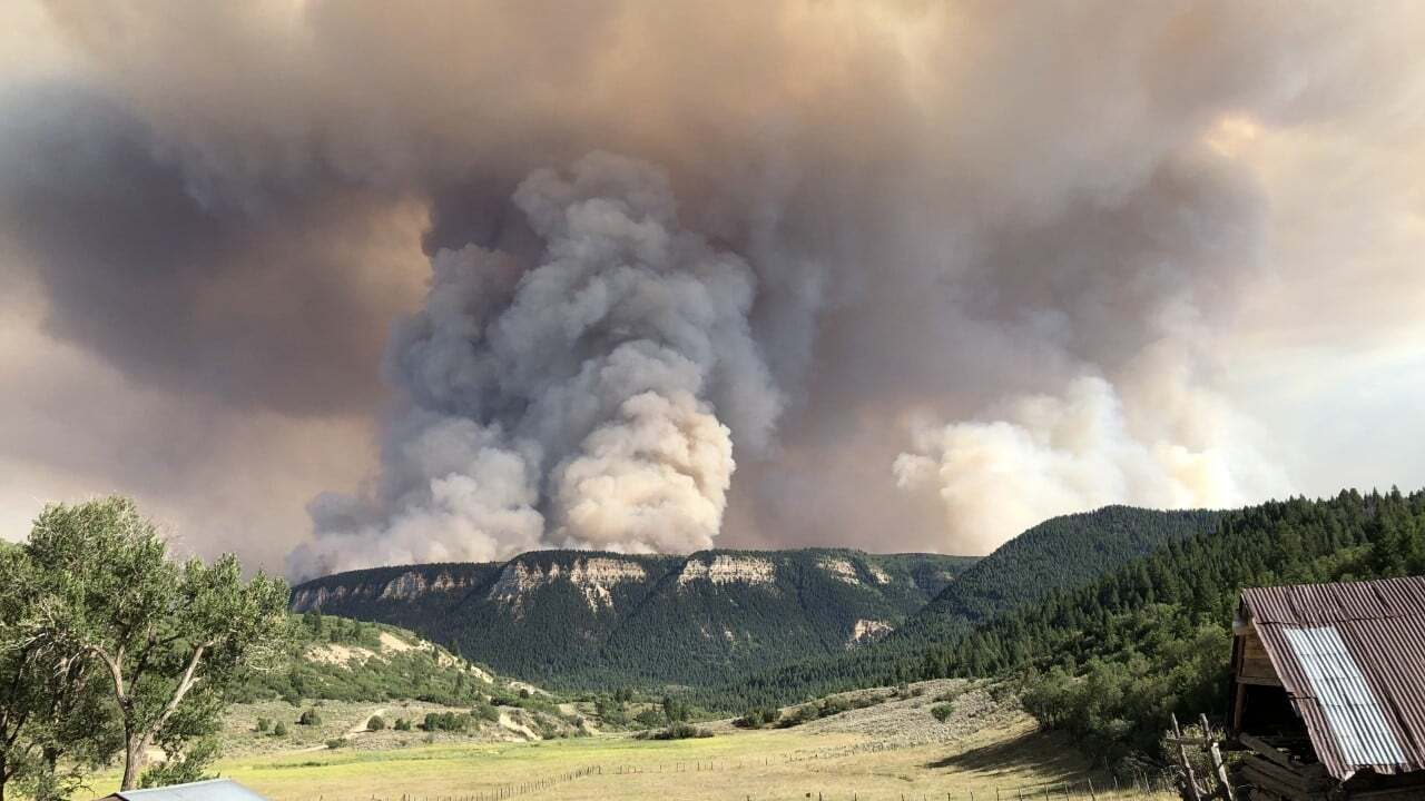 Pine Gulch Fire is second-largest in Colorado history after growing 125,108 acres